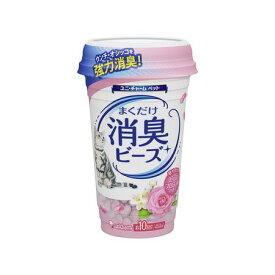 ユニ・チャーム 4520699694084 猫トイレまくだけ 香り広がる消臭ビーズ やさしいピュアフローラルの香り 450ml