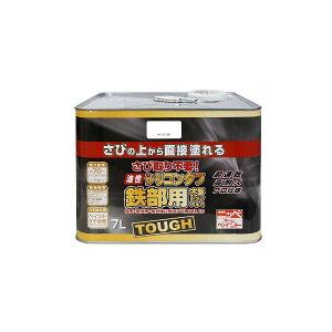 ニッペホームプロダクツ 4976124217951 油性シリコンタフ ホワイト【白】 7L