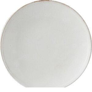 西海陶器 41803 白化粧 8号皿