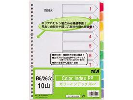 テージー/カラーインデックスPP B5 10山10色 26穴/IN-2310