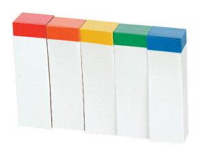 ビュートン/貼ってはがせるノリ付メモ 100枚×5色/MM-200