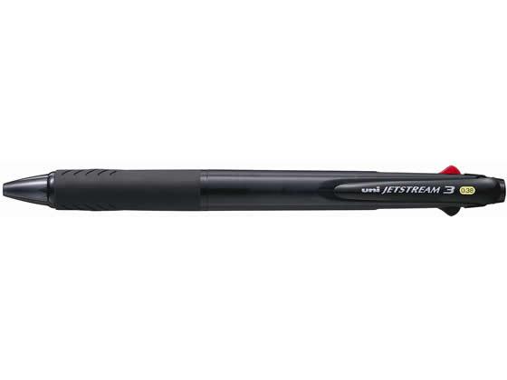 三菱鉛筆/ジェットストリーム3色0.38mm透明黒/SXE340038T.24