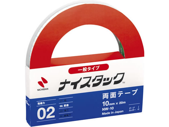 ニチバン/再生紙両面テープ ナイスタック レギュラーサイズ/NW-10