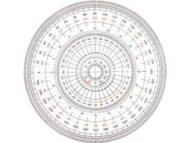 ウチダ/全円分度器 12cm型/1-822-0000