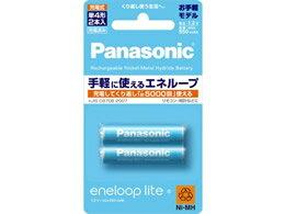 パナソニック/eneloop lite 単4形 2本/BK-4LCC/2