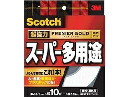 3M/スコッチ 超強力両面テープスーパー多用途 10mm*10m/PPS-10