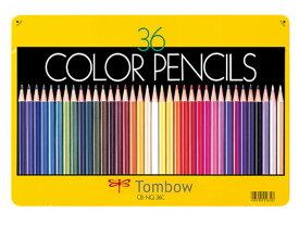 トンボ鉛筆/色鉛筆 36色セット/CB-NQ36C