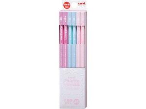 三菱/uniかきかた鉛筆 6角 4B パステルピンク 12本/K55614B