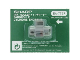 シャープ/インキローラー 赤/黒 EA-772R/TY-0242
