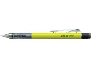 トンボ鉛筆/シャープペンシルモノグラフ ネオン0.5mmネオンイエロー/DPA-134C