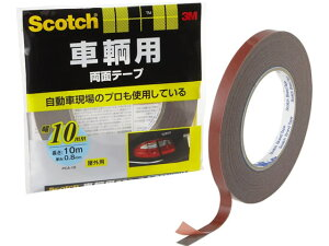 スコッチ 車輛用両面テープ 10mm×10m PCA-10