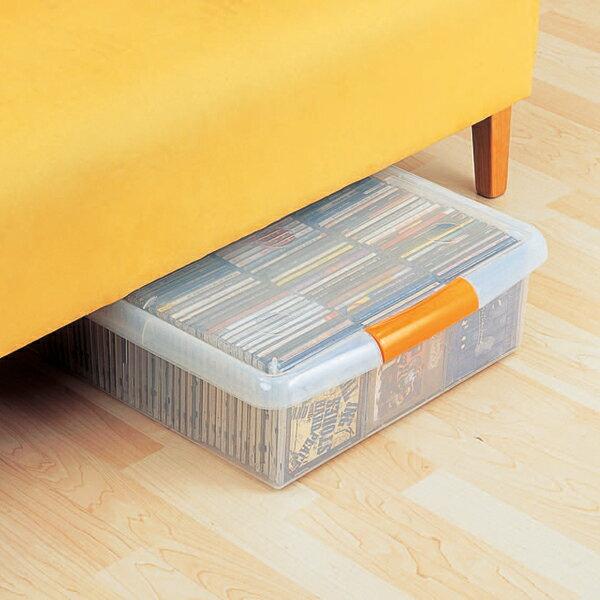 【送料無料】ベッド下などの隙間収納に!薄型ボックス UG-475 プラスチック収納【アイリスオーヤマ】