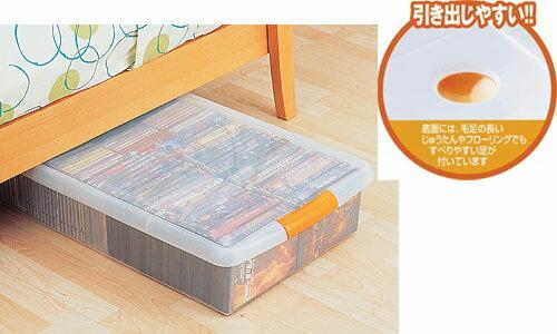 【送料無料】ベッド下などの隙間収納に!薄型ボックス UG-725 プラスチック収納【アイリスオーヤマ】