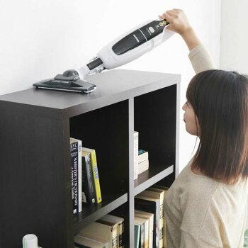掃除機そうじコードレス軽量ほこり感知充電式クリーナーエアタクトKSC-1300Gホワイトアイリスオーヤマ