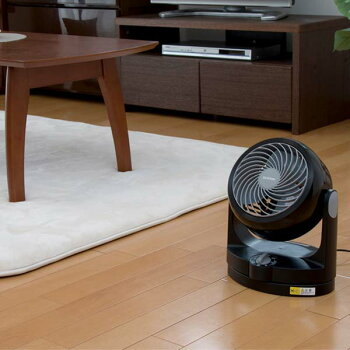 サーキュレーター静音首振りおしゃれ8畳PCF-HD15-WPCF-HD15-Bアイリスオーヤマ家庭用小型静音首振りおしゃれタイプHシリーズホワイトブラックアイリスオーヤマおしゃれ大風量パワフル送風機