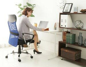 メッシュチェアハイバックタイプ低反発あす楽対応送料無料オフィスチェア全面メッシュパソコンチェア事務椅子いすイス書斎オフィス勉強部屋メッシュキャスター
