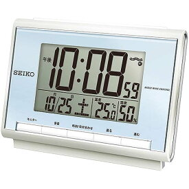 SEIKO 電波目覚し時計 SQ698L【TC】【HD】