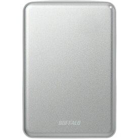 USB3.1 アルミ素材&薄型ポータブルHDD 1TB シルバー HD-PUS1.0U3-SVD送料無料 PC機器 BUFFALO パソコン バッファロー 【D】