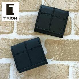 TRION トライオン  革 財布 コインケース ウォレット メンズ レディース カジュアル BP803 誕生日 ギフト 父の日