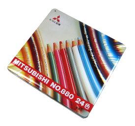 三菱鉛筆 色鉛筆 24色セット