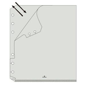 【10%OFFクーポン】Ashfordアシュフォード ファイルケース シールインデックス付 HB×WA5 システム手帳リフィル メーカー品番6635-100