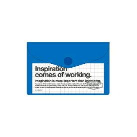【10%OFFクーポン】デルフォニックス ビニールカードケース ブルー メーカー品番500107 386