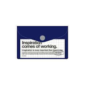【10%OFFクーポン】デルフォニックス ビニールカードケース ダークブルー メーカー品番500107 408