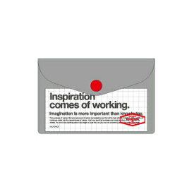 【10%OFFクーポン】デルフォニックス ビニールカードケース グレー メーカー品番500107 102