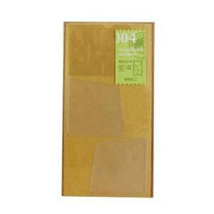 【10%OFFクーポン】トラベラーズノート R/Pサイズ兼用 004 ポケットシール メーカー品番14248006