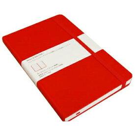 【10%OFFクーポン】MOLESKINE モレスキンカラーノートブック ハードカバー 横罫 ラージ レッド メーカー品番5180111【メール便送料無料】