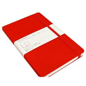 【10%OFFクーポン】MOLESKINE モレスキンカラーノートブック ハードカバー 無地 ラージ レッド メーカー品番5180119【メール便送料無料】