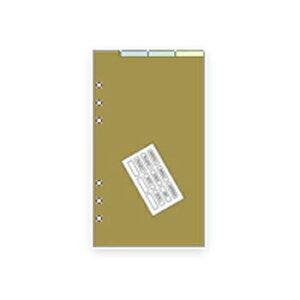 【10%OFFクーポン】レイメイ システム手帳リフィル ダヴィンチ バイブル カラーインデックス メーカー品番DR329・6個までメール便にて発送いたします