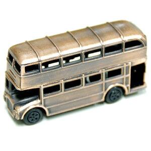 アンティークな仕上げのレトロ調の鉛筆削り アンティーク調 鉛筆けずり レトロ ロンドンバス(ダブルデッカー)