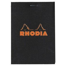 RHODIA ブロック ロディア メモ No11 方眼 cf112009 ブラック ロングセラー