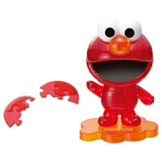 Popular anime Beverly 3D Crystal puzzle Sesame Street Elmo-Red