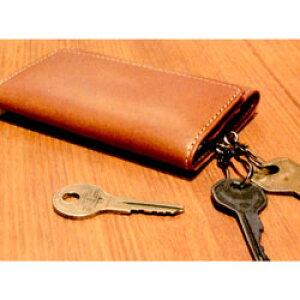 ☆父の日ギフト☆三つ折りタイプのコンパクトな携帯性に優れたキーケース SLIP-ON BT三つ折りキーケース