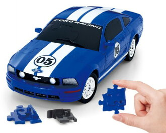 And assemble the pieces to complete realistic car 3D jigsaw Beverly puzzle 3D Mustang /FR500C