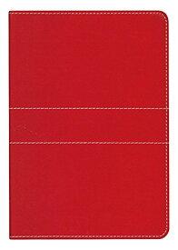 仕事をする女性のためのおしゃれな手帳 ダイゴー ミル スティッチ 2017 手帳 ウィークリー A6 E7402 Red