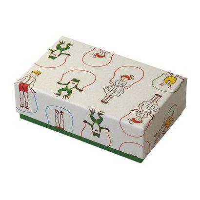 簡単に貼り箱が作れるキットに大人気「ますこえり」デザインが登場★ Hako de Kit 名刺サイズ