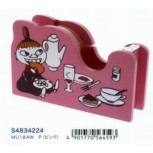 ダイカットの木製のシンプルなデザイン☆ サンスター文具 ムーミン テープカッター MU18AW P