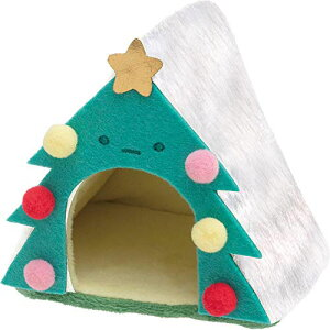 サンエックス すみっコぐらし てのりぬいぐるみ クリスマスver. ツリーのおうち