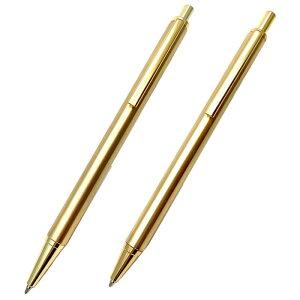 金属ペン ボールペン・シャープペンセット Metal Pen 真鍮 名入れ プレゼント 入学祝 就職祝い 昇進祝い 竹内靖貴 日本製
