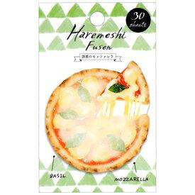 カミオジャパン ハレメシ付箋 魅惑のモッツァレラ ピザ 30枚綴り