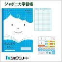 ノート 学習帳 【JFL-2-2】ジャポニカフレンド算数 B5<17マス> 【メール便可】 [M便 1/5]
