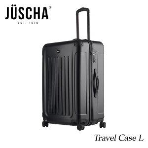 スーツケース おしゃれ かわいい lサイズ 90l ブラックマット キャリーケース キャリーバッグ ビジネス 出張 旅行 ハードスーツケース キャビンケース メンズ レディース JUSCHA 【gwtravel_d19】