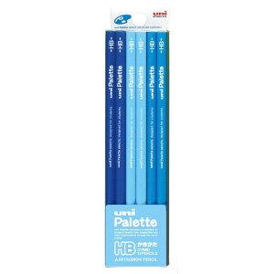 uni Palette(ユニパレット) パステルブルー HB 鉛筆 1ダース【三菱】【メール便可】 [M便 1/5]