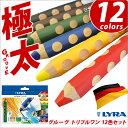 リラ LYRA 鉛筆 色鉛筆 子供 三角軸 極太 グルーヴトリプルワン 12色セット【05P03Dec16】【メール便可】