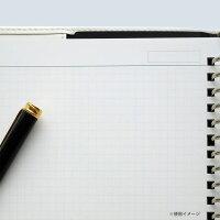 ルーズリーフa5ジウリス5mm方眼罫HL307B50枚使いやすい【メール便可】[M便1/2]