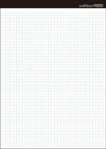 レポート用紙 B5 両面 【zeitVektor】【メール便可】 [M便 1/4]