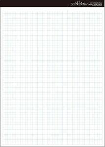 レポート用紙 A4 両面 【zeitVektor】【メール便可】 [M便 1/4]